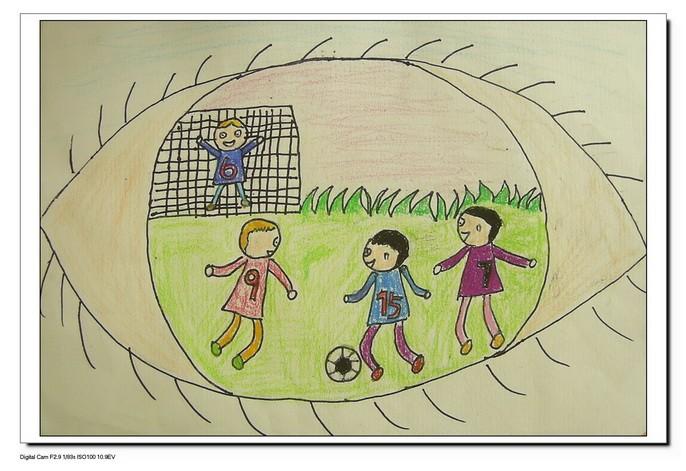 小学美术; 童眼看世界儿童画;